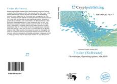Bookcover of Finder (Software)