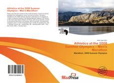 Buchcover von Athletics at the 2008 Summer Olympics – Men's Marathon