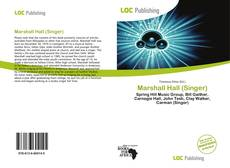 Bookcover of Marshall Hall (Singer)