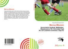 Buchcover von Marius Mbaiam