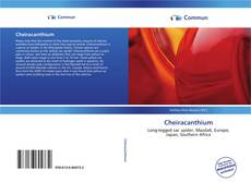 Bookcover of Cheiracanthium