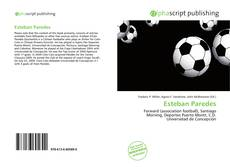Bookcover of Esteban Paredes