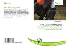 Bookcover of Moto Guzzi motorcycles