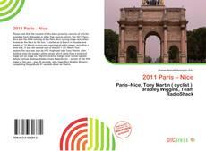 2011 Paris – Nice kitap kapağı