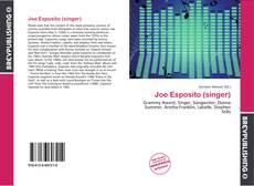 Copertina di Joe Esposito (singer)