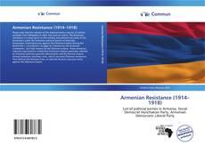 Portada del libro de Armenian Resistance (1914–1918)