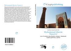 Muhammad Qasim Nanotvi kitap kapağı