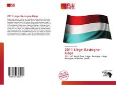 Bookcover of 2011 Liège–Bastogne–Liège
