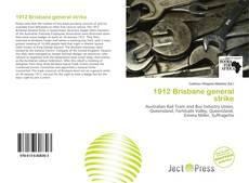 Bookcover of 1912 Brisbane general strike