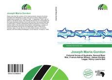 Buchcover von Joseph Maria Gordon