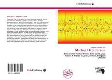 Bookcover of Michael Henderson