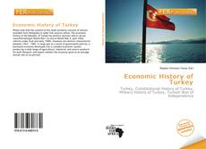 Couverture de Economic History of Turkey