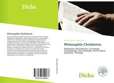 Bookcover of Philosophie Chrétienne