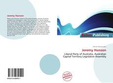 Bookcover of Jeremy Hanson