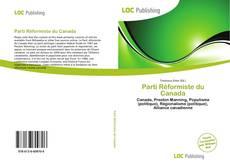 Parti Réformiste du Canada kitap kapağı