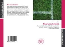 Portada del libro de Mauricio Zenteno