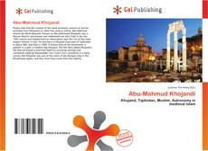 Bookcover of Abu-Mahmud Khojandi