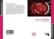 Couverture de Elvis (Text Editor)