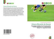 Capa do livro de Cícero Ricardo de Souza