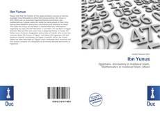 Ibn Yunus kitap kapağı