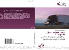 Bookcover of Chase Motor Truck Company