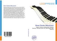 Portada del libro de Dave Clarke (Musician)