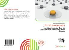 Borítókép a  2010 Tour de Suisse - hoz