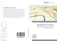 Bookcover of République des Escartons