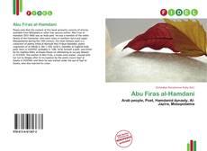 Capa do livro de Abu Firas al-Hamdani