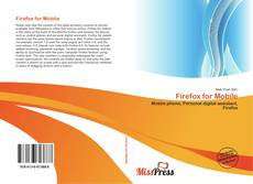 Capa do livro de Firefox for Mobile