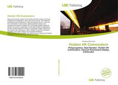 Bookcover of Holden VK Commodore