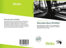 Couverture de Mercedes-Benz OC500LE