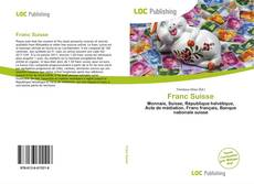Capa do livro de Franc Suisse