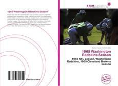 Buchcover von 1965 Washington Redskins Season