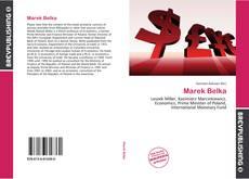 Capa do livro de Marek Belka
