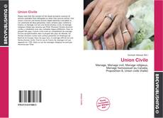 Capa do livro de Union Civile