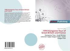 Borítókép a  1994 Kangaroo Tour of Great Britain and France - hoz