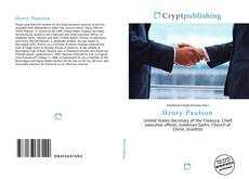 Bookcover of Henry Paulson