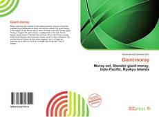 Обложка Giant moray