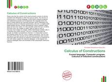 Bookcover of Calculus of Constructions