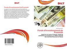 Borítókép a  Fonds d'Investissement de Proximité - hoz