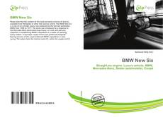 BMW New Six kitap kapağı