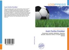 Bookcover of Juan Carlos Escobar