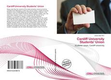 Capa do livro de Cardiff University Students' Union
