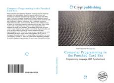 Portada del libro de Computer Programming in the Punched Card Era