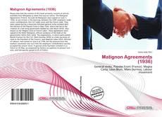 Portada del libro de Matignon Agreements (1936)