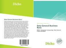 Bookcover of Data General Business Basic