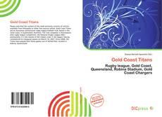 Обложка Gold Coast Titans