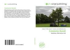 Capa do livro de Catatonia (band)
