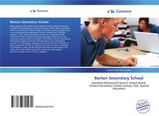 Bookcover of Barton Secondary School